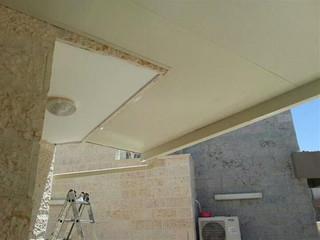 קירוי מרפסת באמצעות גג מבודד