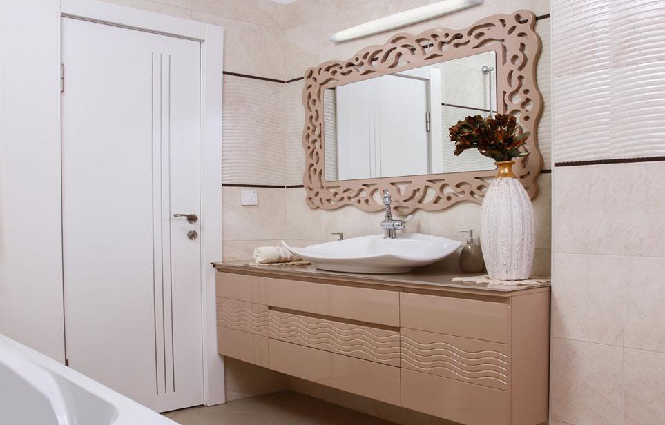 ארון תלוי לאמבטיה גל