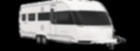 קרוואן נגרר HOBBY דגם פרימיום 660 WFU