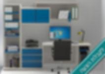 פינת עבודה משרדית - לקבלת הצעה
