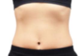 אחרי סדרת טיפולי הקפאת שומן