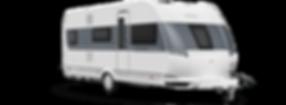 קראוון נגרר HOBBY דגם דה לוקס 545 KMF
