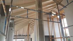 תהליכי בניית גג רעפים