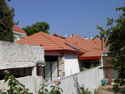 בניית גגות רעפים לבתים פרטיים
