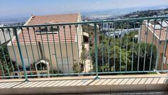 מעקה ברזל מגלוון למרפסת
