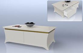 שולחן סלון קטליה
