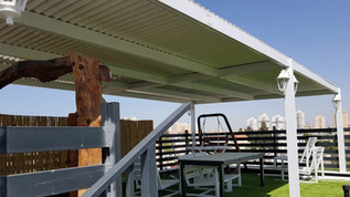 פרגולות חשמליות למרפסות גג