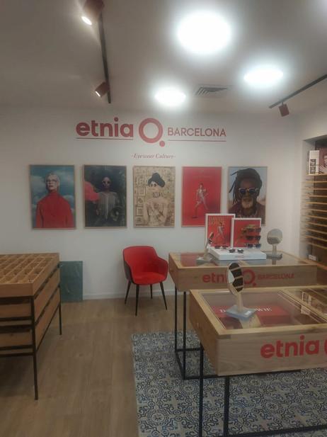 הדפסת שלטי מדבקות פנים עבור אטניה ברצלונה