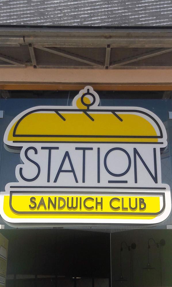 שלט ארגז תאורה עבור סנדוויץ' סטיישן