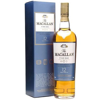 וויסקי מקאלן פיין אוק 12 Macallan Fine Oak