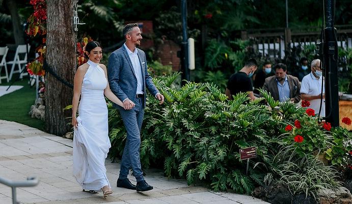 חתונה בקורונה בגן אירועים