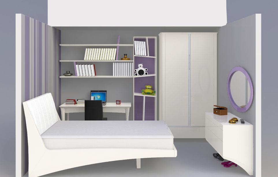 חדר שינה לנוער סריניטי