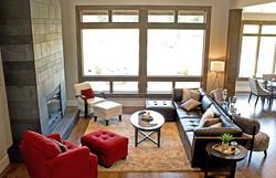 חלונות בלגיים בסלון
