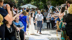 חתונה גדולה בגן אירועים