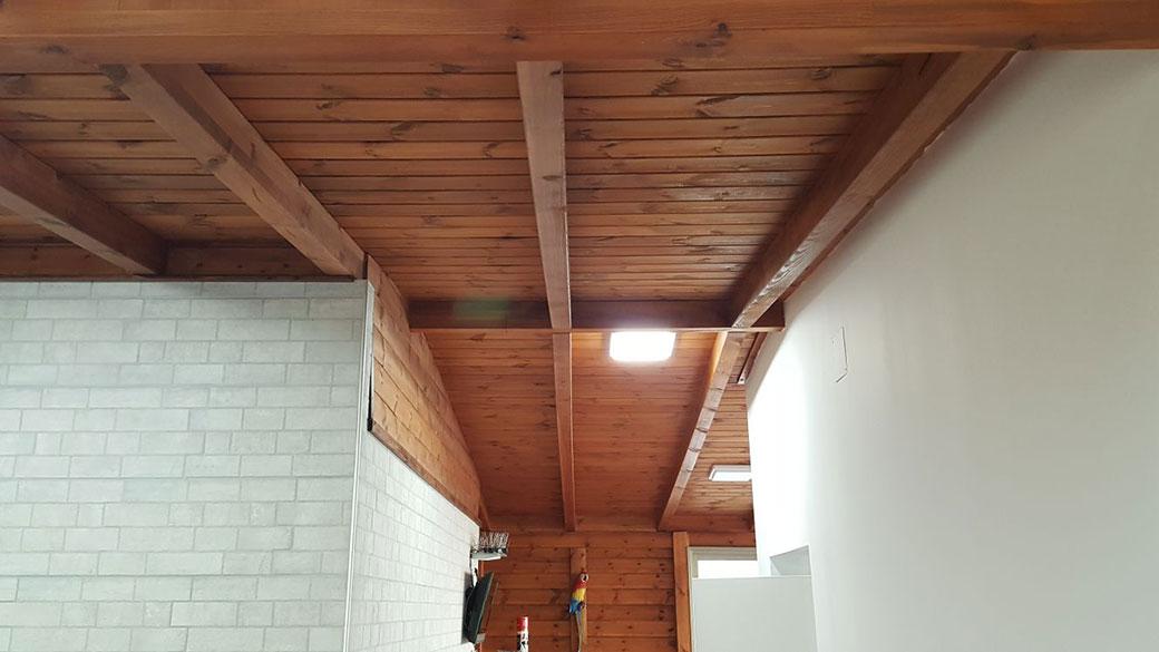 גג רעפים לאחר החלפת רעפים
