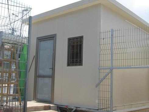 הקמת מחסן בבנייה קלה