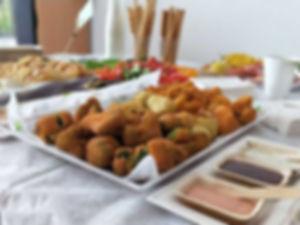 ירקות מצופים מהגינה - מנות מהמטבח החם של קייטרינג איט איט