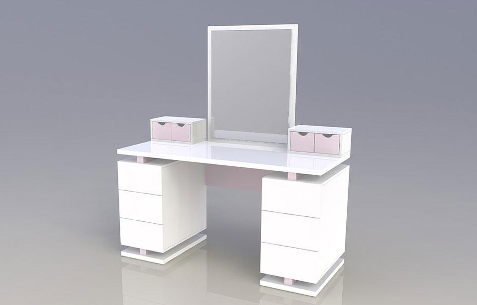 שולחן עבודה לנערות בהתאמה אישית
