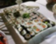 מגש אירוח סושי