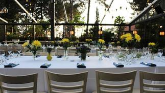 חתונה בטבע - עיצוב המקום בהתאמה אישית