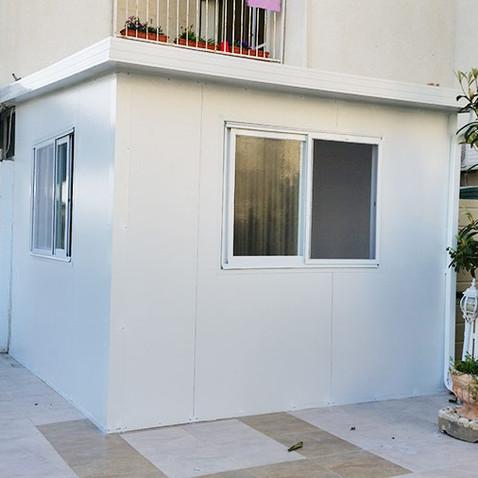 הוספת חדר שינה / יחידת דיור באמצעות בנייה קלה