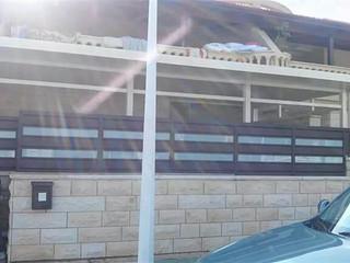 גג מבודד לפרגולה