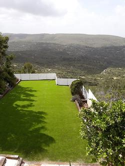 גדר היקפית מאלומיניום לגינה