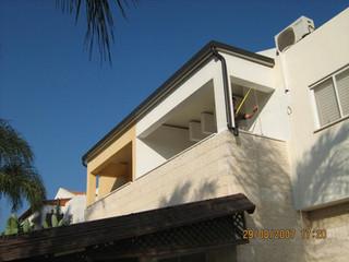 קירוי מרפסת שמש עם גג מבודד
