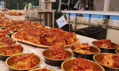 לזניה שלושת הגבינות - מנות מהמטבח החם של קייטרינג איט איט