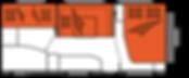 קרוואן נגרר הובי דה לוקס דגם KMF 545 מצב לילה