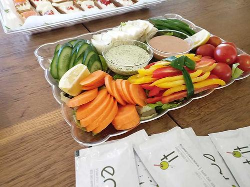 מגש ירקות - איט איט קייטרינג סלטים