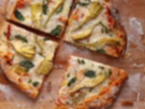 מגש פיצה - פיציליה - מגשי אירוח חלביים של איט איט