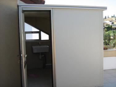 תוספת חדר באמצעות בנייה קלה מפנל מבוד