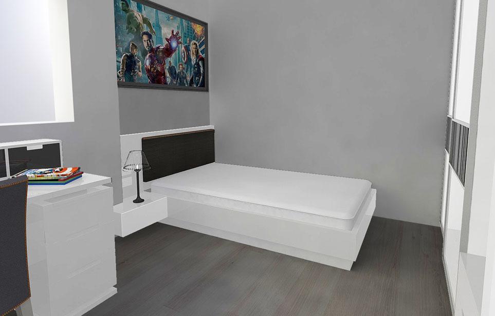 חדר שינה לנוער בהתאמה אישית