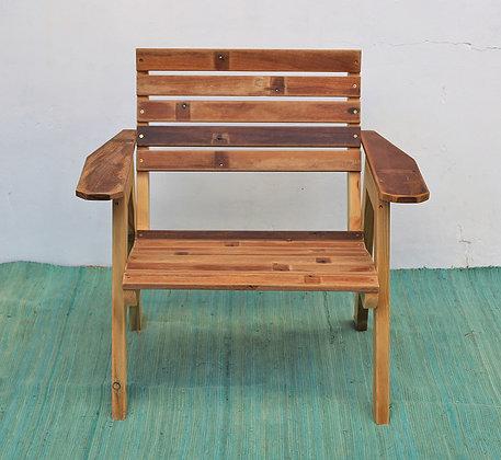 כיסא עץ איפאה