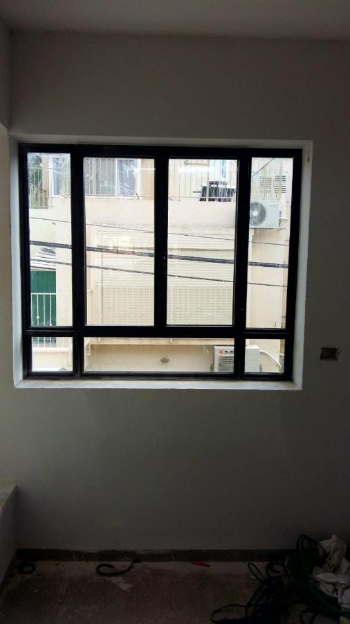 חלון אלומיניום בלגי