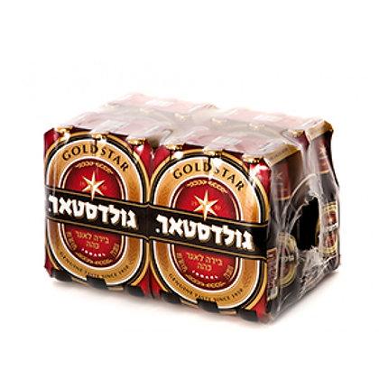 """גולדסטאר 24 בקבוקים 330 מ""""ל"""