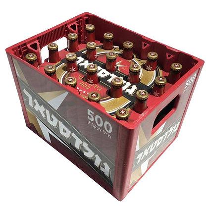 """גולדסטאר 20 בקבוקים 500 מ""""ל"""