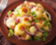 סלט תפוחי אדמה אירופי פרווה