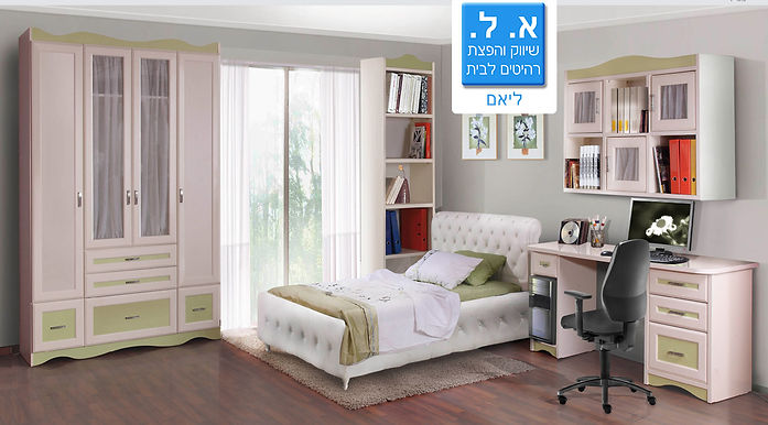חדר ילדים דגם ליאם