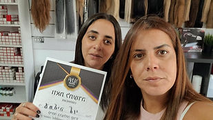 עתליה לוי - בוגרת קורס תוספות שיער של חברת נונה