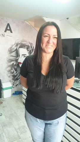תוספות שיער שחור