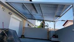 פרגולה חשמלית לדירת גן