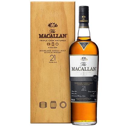 וויסקי מקאלן פיין אוק 21 Macallan Fine Oak
