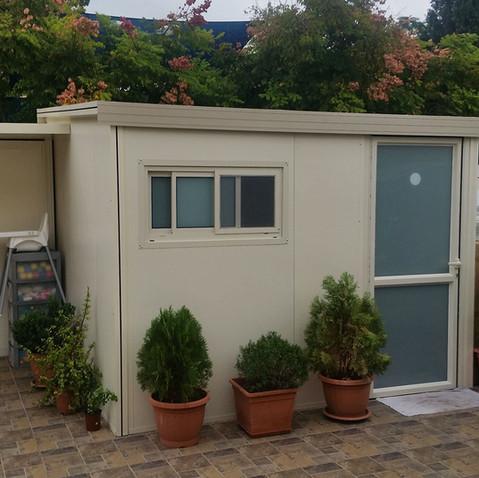 תוספת יחידת דיור בבנייה קלה לחצר