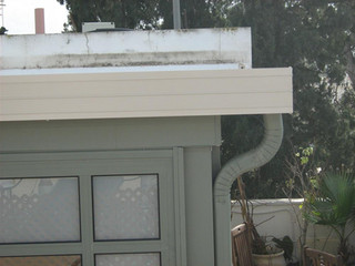 גג מבודד לתוספת בניה קלה