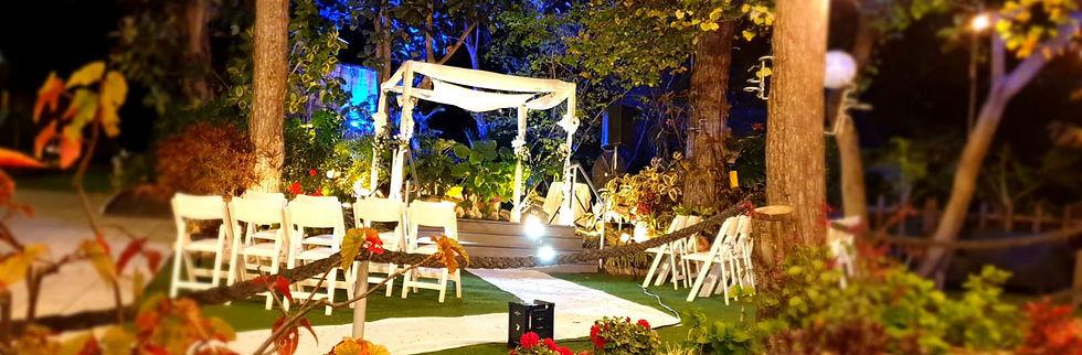 חתונה בגן אירועים פתוח בצפון