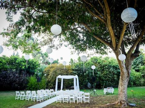 חתונת בוקר בגני אירועים - גן החורשה
