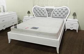 חדר שינה אוליביה לבן