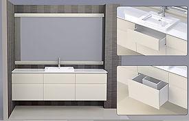 ארון אמבטיה בר